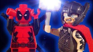 LEGO THOR V'S DEADPOOL - MARVEL STOP MOTION