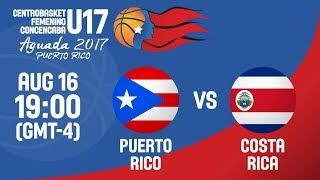 Пуэрто-Рико до 17 : Коста-Рика до 17