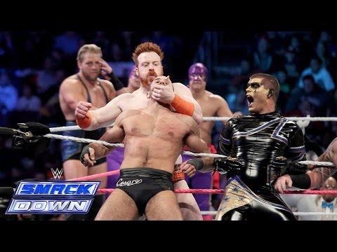 A 15-man Tag Team Match Between Team Teddy & Team Laurinaitis: Smackdown, Oct. 10, 2014 video