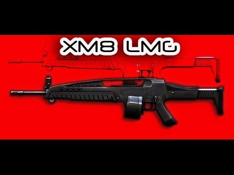 Варфейс(Warface)  Обзор на XM8 LMG ПВП штурмовик
