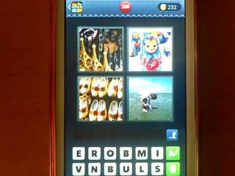 Resultados y respuestas para el juego 4 Fotos 1 Palabra