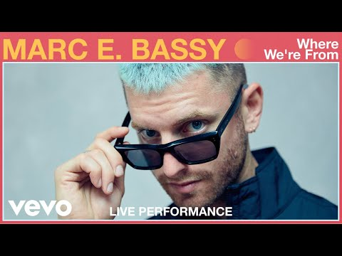 """Marc E. Bassy - """"Where We're From"""" Live Performance 