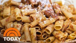 Anthony Bourdain Cooks Sunday Gravy With Sausage And Rigatoni | TODAY