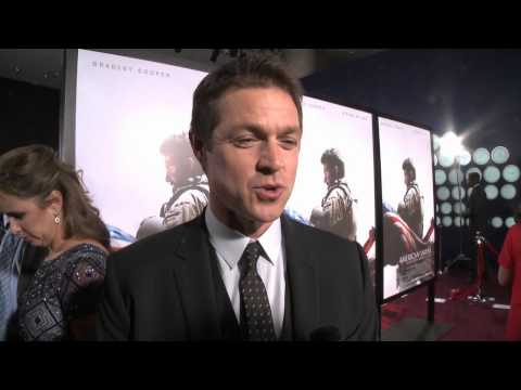 American Sniper: Eric Close Red Carpet Movie Premiere Interview