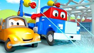 Xe tải la-de  - Siêu xe tải Carl 🚚 ⍟ l những bộ phim hoạt hình về xe tải dành cho thiếu nhi