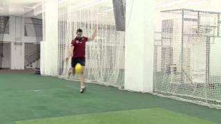 AFL Kicking Contest - Jeremy Howe v Matt Wade