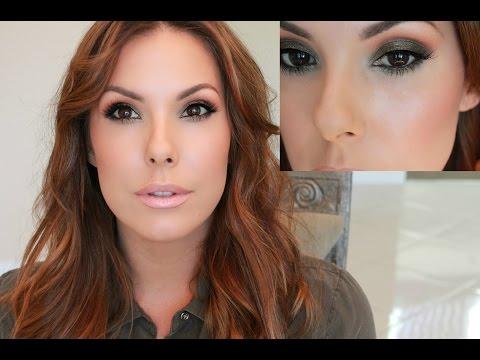 Fall Makeup Look | Olive Green Eye Shadow