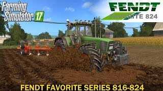 Farming Simulator 17 FENDT FAVORITE SERIES 816-824 TRACTOR