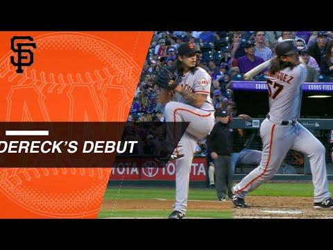 Dereck Rodriguez, Pudge's son, impresses in his MLB debut