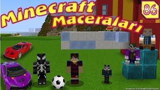 Venom ve Messi Minecraft'ta Kapışıyor (Örümcek Adam Minecraft Maceraları 86 )