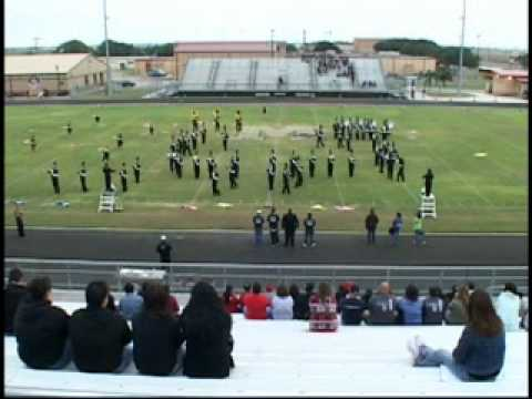 Goliad High School Roarin' Tiger Marching Band ~ Pre-UIL - Lakeshore Marching Festival 2009 (2/2)