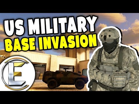 Us Military Base Invasion - Military RP Life EP3 (Raiding The Main Military Base Of Operations) thumbnail