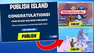 How to UPLOAD & PUBLISH Island Codes Worlds in Fortnite Creative!