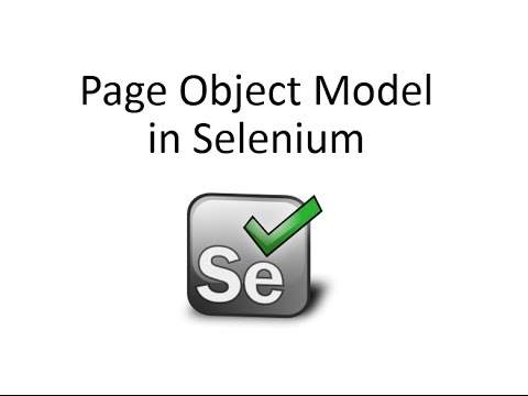 Implement Page Object Model in Selenium Webdriver