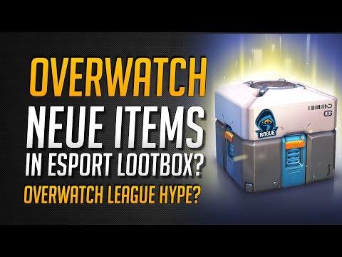 Overwatch League Lootboxen? | Neue Items und Skins mit eSports Hintergrund? ★ Overwatch Deutsch