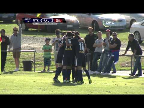 2013 OFC Champions League 2013.04.07 Waitakere United vs Auckland City FC Highlights