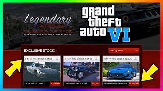 GTA 6 - Grand Theft Auto VI: Cars, Vehicles & MORE Have Been Found According To Rockstar Insider!