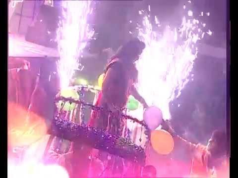 'Charmy kaur sets the stage ablaze ! Mirchi music awards telugu   MMASOUTH2015 Photo Image Pic