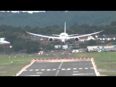 Qatar Airways Boeing 787 Dreamliner Display, Farnborough