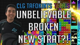 TETRIS 99: UNBELIEVABLE BROKEN NEW STRAT (30 KO GAME)
