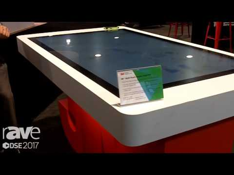 DSE 2017: 3M Touch Systems Demos C6587PW Multi-Touch Display With Up To 80 Touch Points