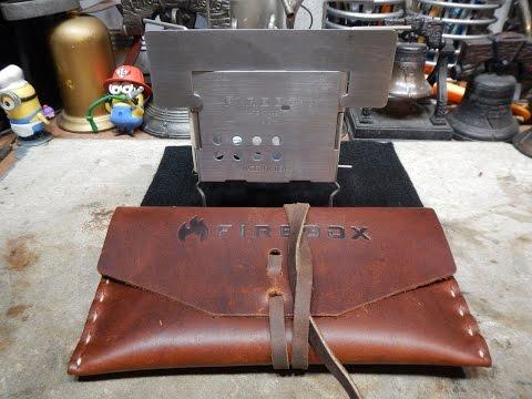 Gen2 Folding Firebox Nano Ultralight Backpacking 3'' Stove - A Quick Review
