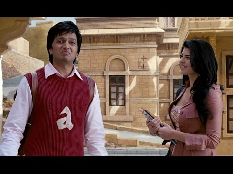 Ritesh Deshmukh Wants To Be Friends With Jacqueline Fernandez - Aladin