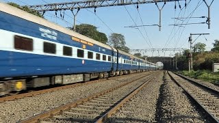 CLEANEST Train of SCR - Mumbai Hyderabad Express