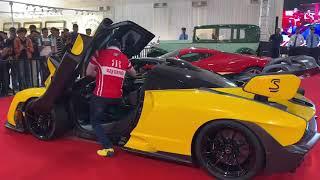 McLaren car in Bandra BKC Mumbai