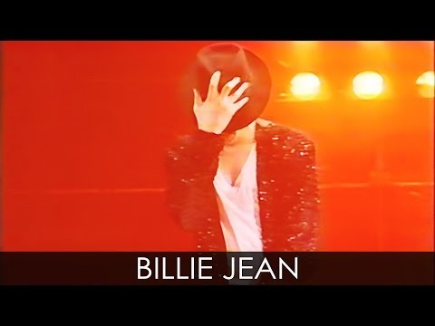 Michael Jackson - billie Jean Live Dangerous Tour Argentina 1993 - Enhanced - Hd video