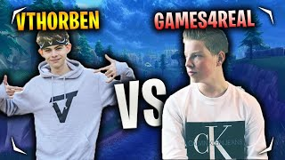 vThorben vs Games4Real - Wie is de BESTE speler!?