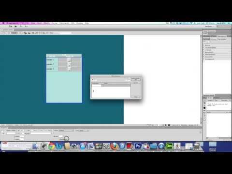 Insertar una lista de reproduccion en dreamweaver CS6
