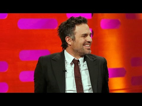 James McAvoy and Mark Ruffalo unicycle - The Graham Norton Show: Series 16 Episode 13 - BBC One