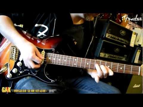 Fender - Stevie Ray Vaughan Stratocaster Demo at GAK!