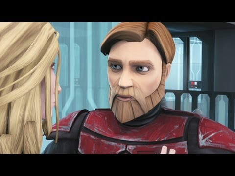 Star Wars Clone Wars Clip - Obi-Wan To The Rescue