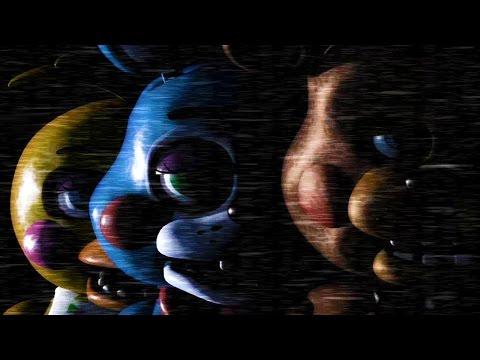 阿津『Five Nights at Freddy's 2』玩具熊的五夜後宮2代 - 更多人偶