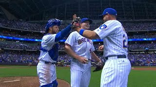 7/28/17: Suter leads Brewers to 2-1 win over Cubs