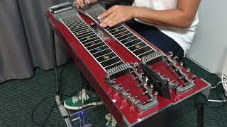 Title theme - The Legend of Zelda - Ocarina of Time - Pedal Steel Guitar Cover by Mathew Jut