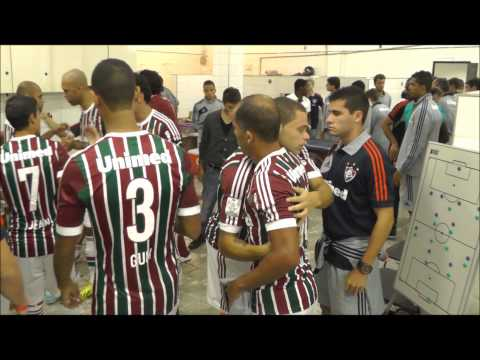Bastidores da vitria do Fluminense por 2 a 0 sobre o Emelec, pela Copa Libertadores