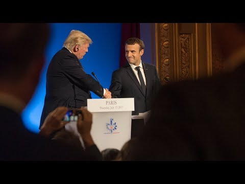 Trump and Macron's Relationship, Explained | NYT