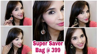 Super Saver Bag @ 399 | Earring Edition |