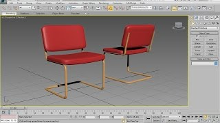 3DS Max Chair Modeling – Easy Beginner Tutorial