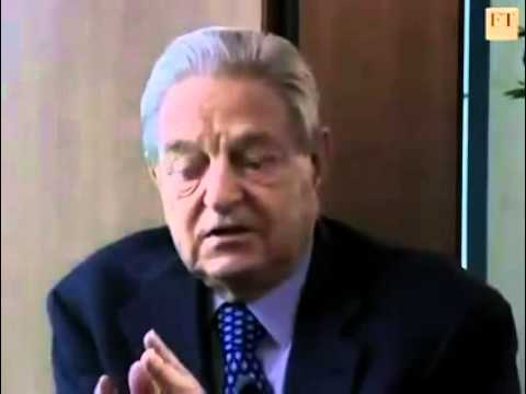 George Soros Openly Discusses the coming New World Order.flv