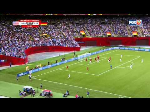 USWNT Germany 2015 Women's World Cup Semifinals Full Game USA FOX SPORTS FIFA MAtch