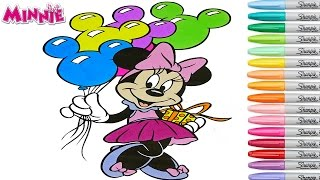Minnie Mouse Coloring Book Pages Disney Rainbow Splash Mickey Mouse Clubhouse