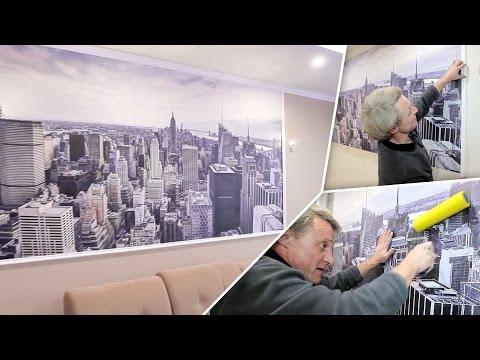 Как правильно подготовить стену для поклейки обоев видео