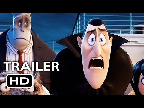 Hotel Transylvania 3 Official Trailer #1 (2018) Adam Sandler, Selena Gomez Animated Movie HD