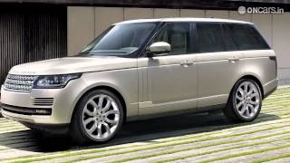 2013 Range Rover officially revealed