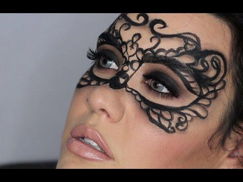 Maquillaje Fantasía - Máscara Elegante y Sofisticada