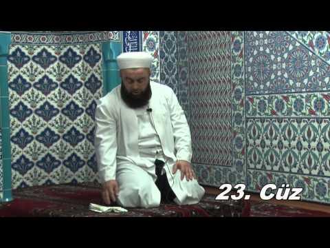 Fatih Medreseleri Masum Bayraktar Hoca Mukabele 23. Cüz